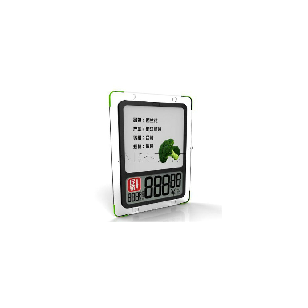 TS825 Electronic Shelf Label (LCD)